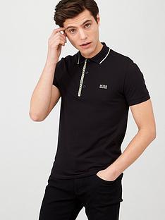 boss-paule-4-logo-placket-polo-shirt-black