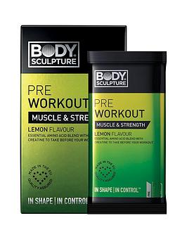 Body Sculpture Body Sculpture Pre-Workout Lemon - 10 X 7G Sachet Picture