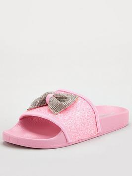 Lelli Kelly Lelli Kelly Girls Maelle Bow Slider - Pink Picture