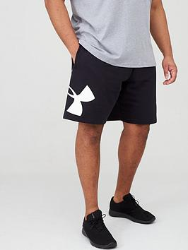 Under Armour Under Armour Plus Size Rival Fleece Logo Short - Black Picture