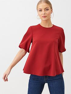 v-by-very-smock-shell-top