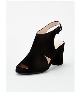 Carvela Carvela Comfort Annie Heeled Sandal - Black Picture
