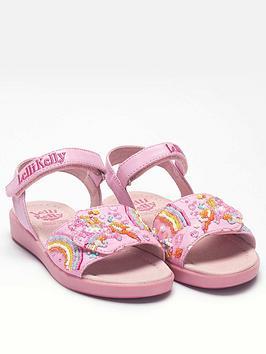 Lelli Kelly Lelli Kelly Girls Dorothy Unicorn Sandal - Pink Picture