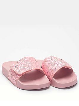 Lelli Kelly Lelli Kelly Glitter Barbara Slider - Pink Picture