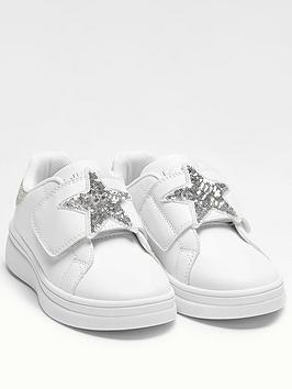 Lelli Kelly Lelli Kelly Girls Thalisa Star Strap Trainer - White/Silver Picture