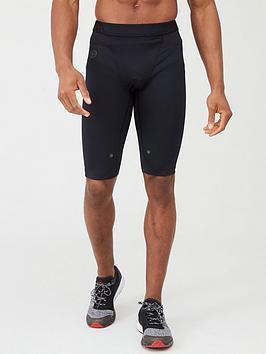 Under Armour Under Armour Heatgear&Reg; Rush Long Shorts - Black Picture