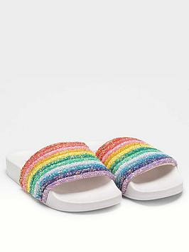Lelli Kelly Lelli Kelly Girls Iris Rainbow Slider Picture