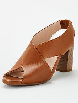 Carvela Carvela Comfort Ally Heeled Sandal - Tan Picture
