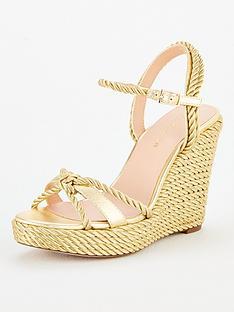 kurt-geiger-london-neile-wedge-sandal-gold