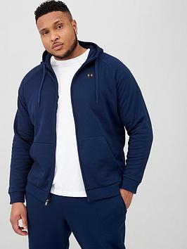 Under Armour Under Armour Plus Size Rival Fleece Full Zip Hoodie - Academy Picture
