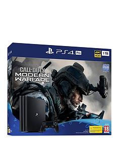 playstation-4-ps4-pro-1tb-with-call-of-duty-modern-warfare-2019-with-optional-extras