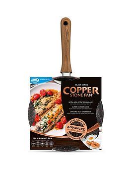 Jml Copper Stone &Ndash; Black Series 28 Cm Frying Pan