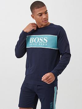 Boss Boss Bodywear Authentic Sweatshirt - Navy Picture
