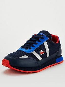 Lacoste Lacoste Partner 120 Lace Up Trainers - Navy/Blue Picture