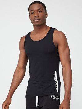 Boss   Bodywear Identity Tank Top Vest - Black