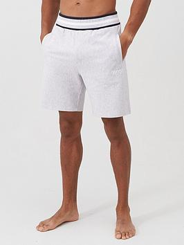 boss-bodywear-heritage-lounge-shorts-grey