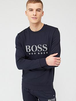 Boss Boss Bodywear Tracksuit Sweatshirt - Navy Picture