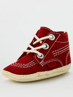 kickers-baby-kick-high-crib-bootie-red