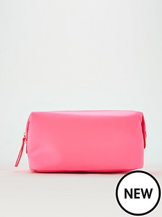 v-by-very-cosmetic-bag-neon-pink