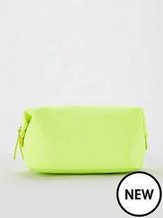 v-by-very-cosmetic-bag-neon-lime