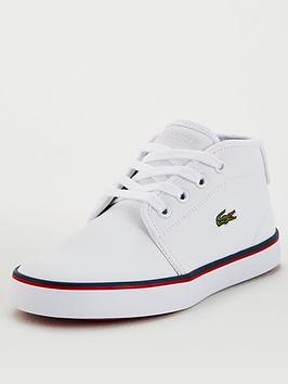 Lacoste Lacoste Ampthill 120 1 Chukka Boots - White Picture