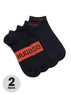 boss-bodywearnbsplogo-trainer-liner-socks-2-pack-navynbsp