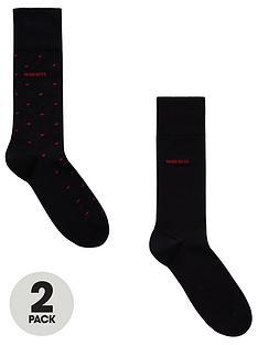 boss-bodywear-2-pack-polka-dot-socks