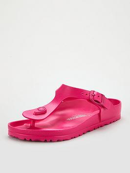 Birkenstock Birkenstock Gizeh Eva Lightweight Flip Flop - Pink Picture