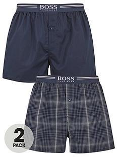 boss-bodywear-2-pack-woven-boxers-navy