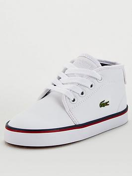 Lacoste Lacoste Infant Ampthill 120 Chukka Boots - White Picture