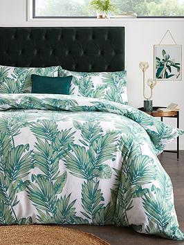 Everyday Collection Everyday Collection Botanical Leaf Duvet Cover Set Picture