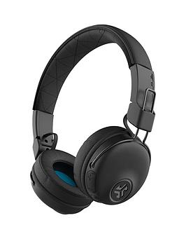 JLAB Jlab Studio Wireless Bluetooth On Ear Headphones - Black Picture