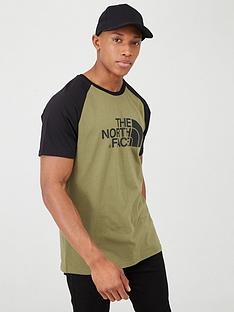 the-north-face-short-sleeve-raglan-easy-t-shirt-khaki