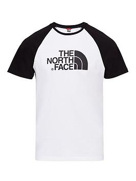 The North Face The North Face Short Sleeve Raglan Easy T-Shirt - White Picture