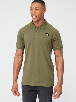The North Face The North Face Raglan Jersey Polo - Olive Picture