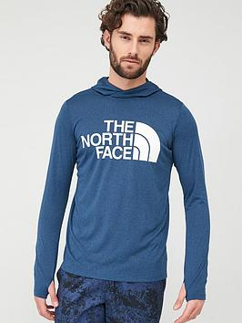The North Face The North Face 24/7 Big Logo Hoodie - Blue Heather Picture