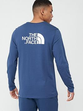 the-north-face-long-sleeve-easy-t-shirt-navy
