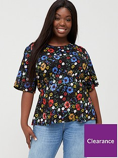 v-by-very-curve-angel-sleeve-viscose-blouse-ditsy-floral