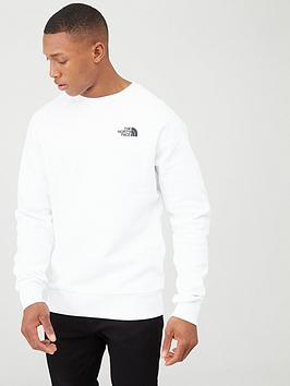 The North Face The North Face Raglan Redbox Crew T-Shirt - White Picture