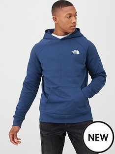 the-north-face-raglan-redbox-pullover-hoodie-blue