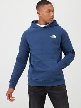 The North Face The North Face Raglan Redbox Pullover Hoodie - Blue Picture