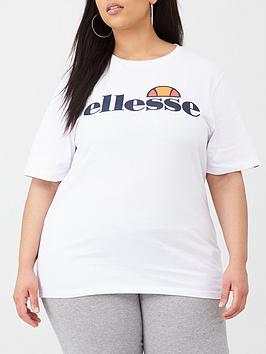 Ellesse Ellesse Albany Tee Shirt Plus - White Picture