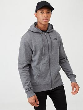 The North Face The North Face Open Gate Full Zip Light Hoodie - Medium  ... Picture