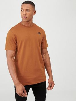The North Face The North Face Short Sleeve Redbox T-Shirt - Caramel Picture