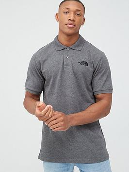 The North Face The North Face Piquet Polo - Medium Grey Heather Picture