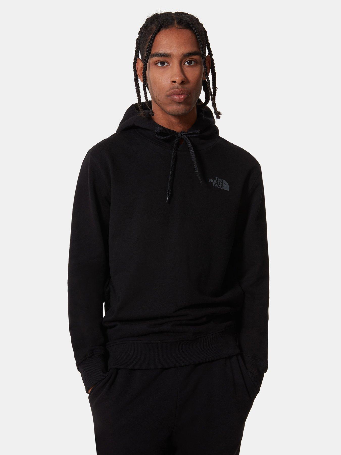Just Hiker Hoodies Outdoor Space Cotton Sweatshirt Crewneck Sweater Pullover Sportswear