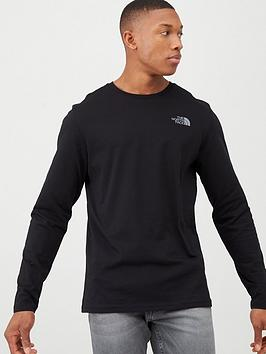 The North Face The North Face Long Sleeve Easy T-Shirt - Black Picture