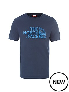 the-north-face-short-sleeve-woodcut-dome-t-shirt-bluenbsp
