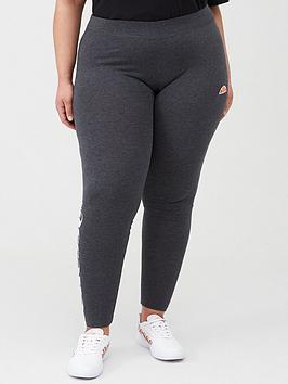 Ellesse Ellesse Heritage Solos 2 Legging Plus - Dark Grey Marl Picture