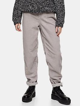 topshop-topshop-32-cord-balloon-leg-jeans-grey